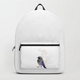 Grumpy Junco Bird Backpack