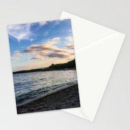 Sardinian beach Stationery Cards