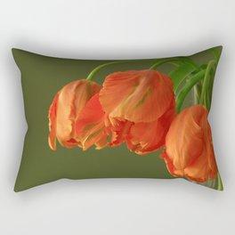 Avignon Parrot Tulips Rectangular Pillow