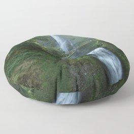 Multnomah Falls Floor Pillow