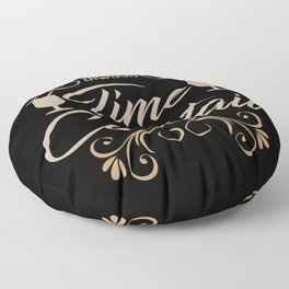 Cocktail Time I Cocktail Gift Motif Floor Pillow