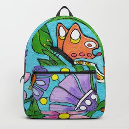 Springtime Series #3 Butterfly Backpack