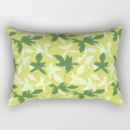 Philodendron Florida Ghost Rare Tropical Plant Pattern Rectangular Pillow