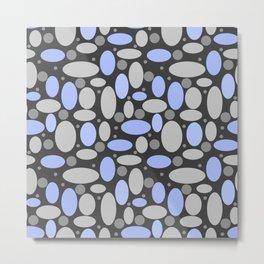 Retro sixties, polka dot pattern, retro pattern , sixties, polka dots Metal Print
