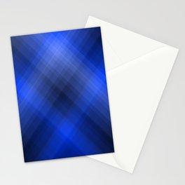 Dark Blue Lines Stationery Cards