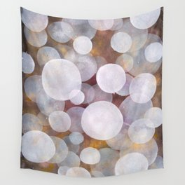 'No clear view 18' Wall Tapestry