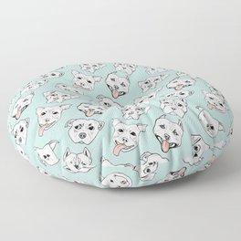 Pittie Pittie Please! 3 Floor Pillow