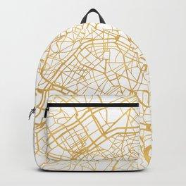 PARIS FRANCE CITY STREET MAP ART Backpack