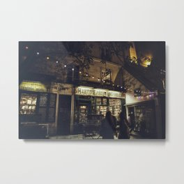 Bookstore with charm Metal Print
