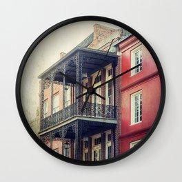 French Quarter Wall Clock