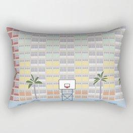 Hong Kong Choi Hung Estate, Wong Tai Sin District, Kowloon Basketball Court Rectangular Pillow