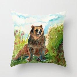 kodiak Throw Pillow