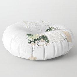 House Plants Floor Pillow