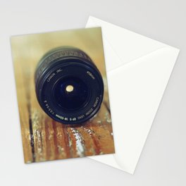 zoom lens Stationery Cards