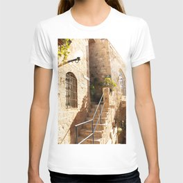 Stairs in Jaffa - Tel Aviv - Travel Photography T-shirt