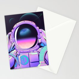 Space Travel 20XX Stationery Cards