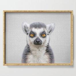 Lemur 2 - Colorful Serving Tray