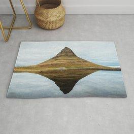 Mountain reflect Rug