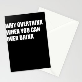 Funny party t-shirt party vacation booze vacation Stationery Cards