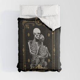 The Lovers VI Tarot Card Comforters