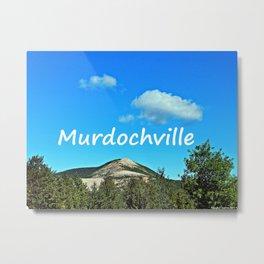 Murdochville, Gaspésie Metal Print
