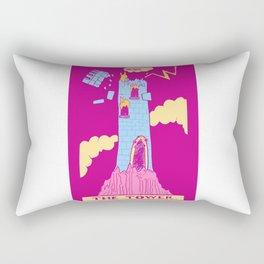The Tower - A Femme Tarot Card Rectangular Pillow