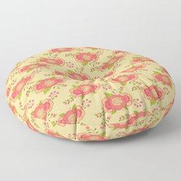 Beautiful Floral Patern Floor Pillow