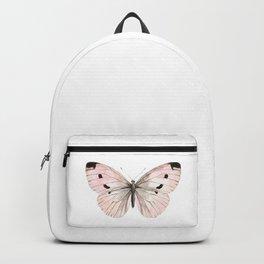 Butterfly flutter - soft peach Backpack