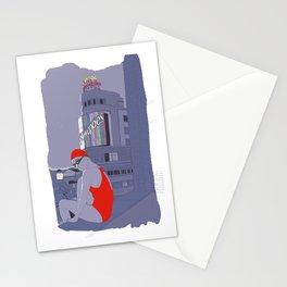 Diving in Madrid / Buceando en Madrid Stationery Cards