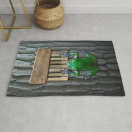 Songs Of The Tree Frog Rug