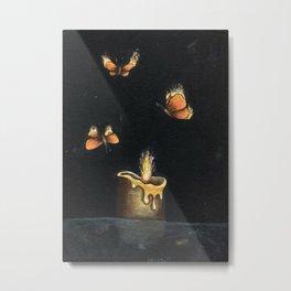 Like Moths to a Flame Metal Print
