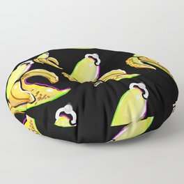BANANAS PIERCED  Floor Pillow
