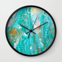 Liquid Gold Wall Clock