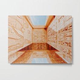 the theban necropolis / egypt Metal Print