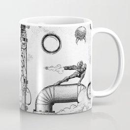 Mother Brain Super Metroid Engraving Scene Coffee Mug
