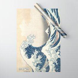 The Great Wave off Kanagawa by Katsushika Hokusai from the series Thirty-six Views of Mount Fuji Wrapping Paper