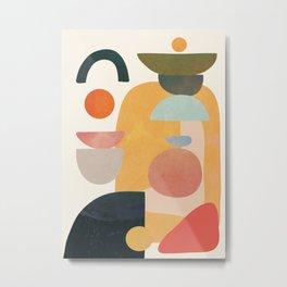 Modern Abstract Art 70 Metal Print