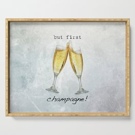 Champagne! Serving Tray