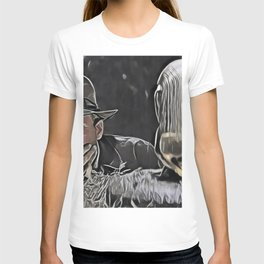 Indiana Jones Surprised Mistery Damned Hidden Treasure Action T-shirt