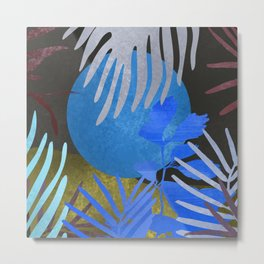 Blue Moon #art print#society6 Metal Print