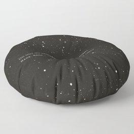 Do not go gentle into that good night.... Floor Pillow