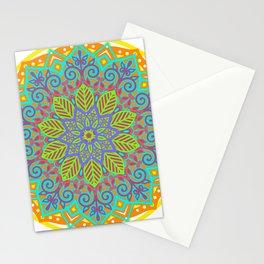 mandala nature Stationery Cards