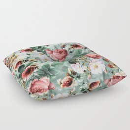 Rpe Seamless Floral Pattern I Floor Pillow