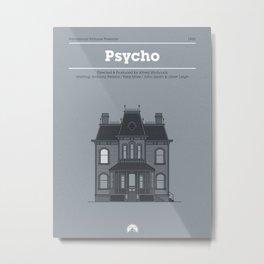 Horror Film Houses 01 Metal Print