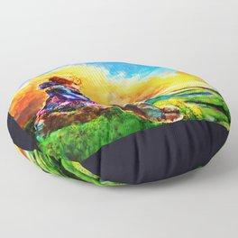 Nausicaa of the Valley of the Wind Floor Pillow