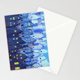 Cidade à Noite Stationery Cards