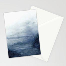 Indigo Abstract Painting | No.2 Stationery Cards