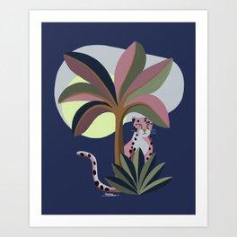 Pink Panter Art Print