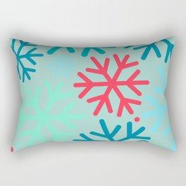 Avis Christmas Snowflakes  Rectangular Pillow