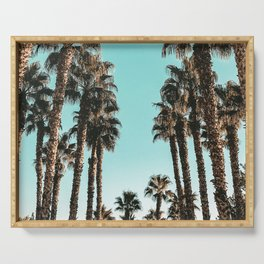 Palm Tree Days {1 of 2} Tropical Cali Art Print Serving Tray